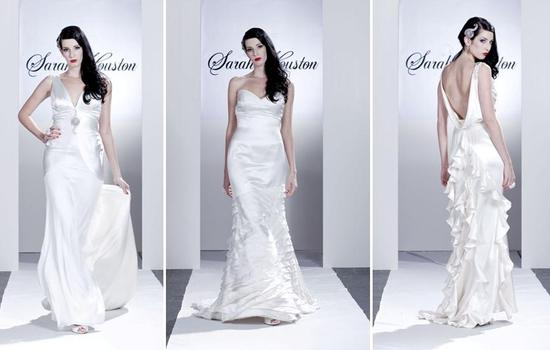 photo of Spring 2010 Bridal Runway: Sarah Houston Wedding Dresses