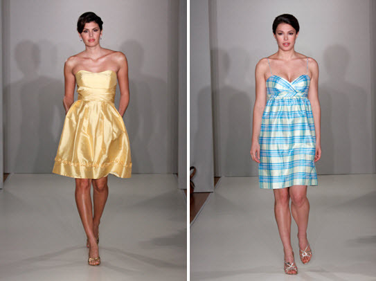 Alfred Angelo Purely Bridesmaid Dresses Spring 2010