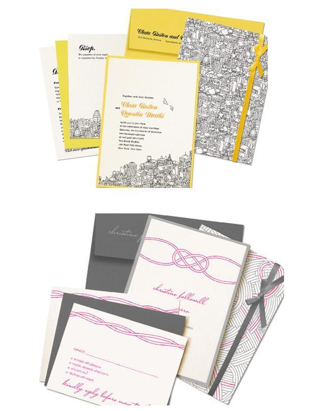 Kenzie-kate-wedding-invitations-stationery-chic-modern-grey-pink-yellow-orange-black.full