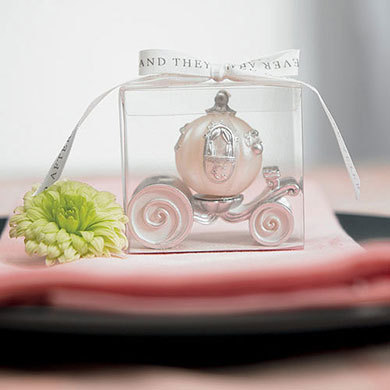 Carriage Candle Favor