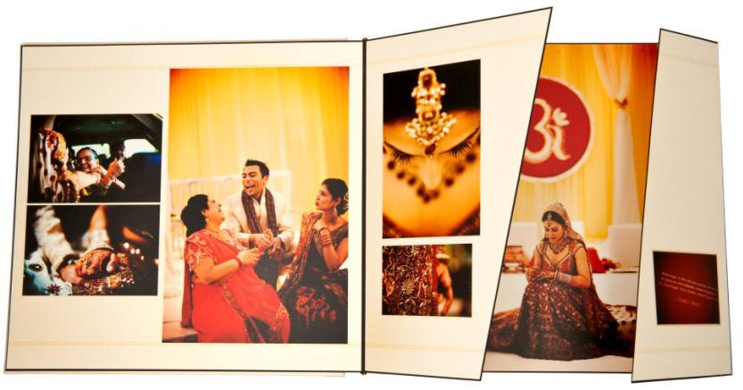 Chicago-wedding-photographer-beautiful-keepsake-album-indian-wedding-red-yellow-orange.full