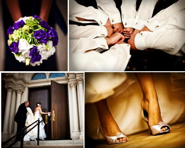Chicago-wedding-purple-green-ivory-chic-downtown-wedding-groomsmen-cufflinks-bridal-peeptoe-heels-rhinestone-brooch.full
