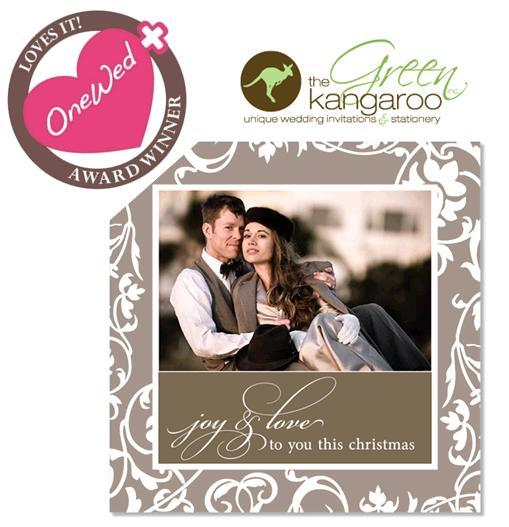 onewed loves the green kangaroo and their gorgeous wedding invitations stationery and holiday cards new free wedding website templates