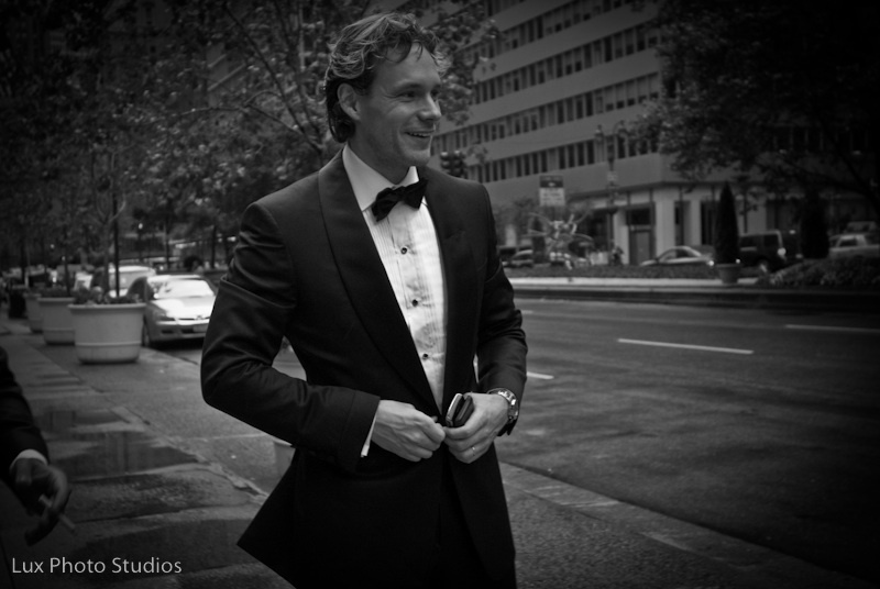 This just seemed like a good excuse to have a picture of a handsome blond groom in a traditional tux