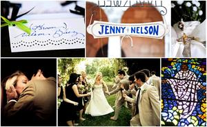 photo of Featured Wedding: Jenny and Nelson