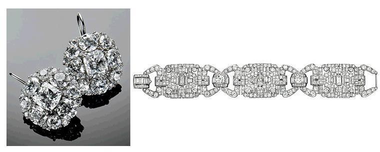 Ivanka-trump-wedding-platinum-diamond-cushion-cut-bridal-earrings-art-deco-bracelet.full