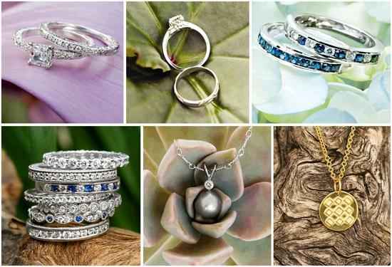 Ethical, eco-friendly bridal jewelry- pearls, sapphires, diamonds and gold- from Brilliant Earth
