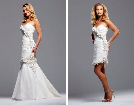 photo of Spring 2010 Bridal Runway: David Tutera by Faviana Wedding Dresses