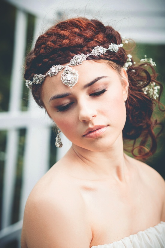 Acanthus Halo Headband