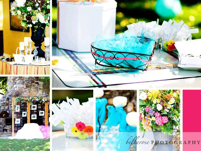 Turquoise-aqua-teal-pink-wedding-outdoor-vibrant-flowers-wedding-details-inspiration.full