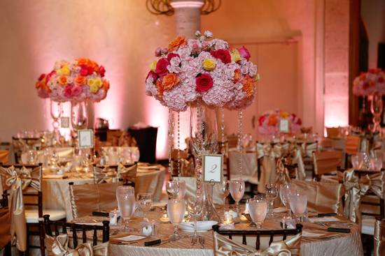 Breath taking table scapes