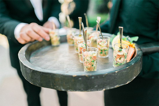 Prawn Ceviche Shooters