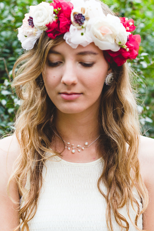 Ragga Wedding | Custom Designed Floral Crown