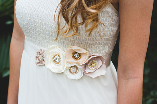 Handcrafted Bridal Sash | Ragga Wedding
