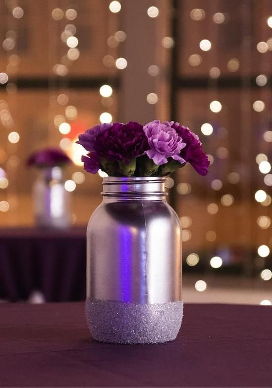 Silver Moon Centerpiece