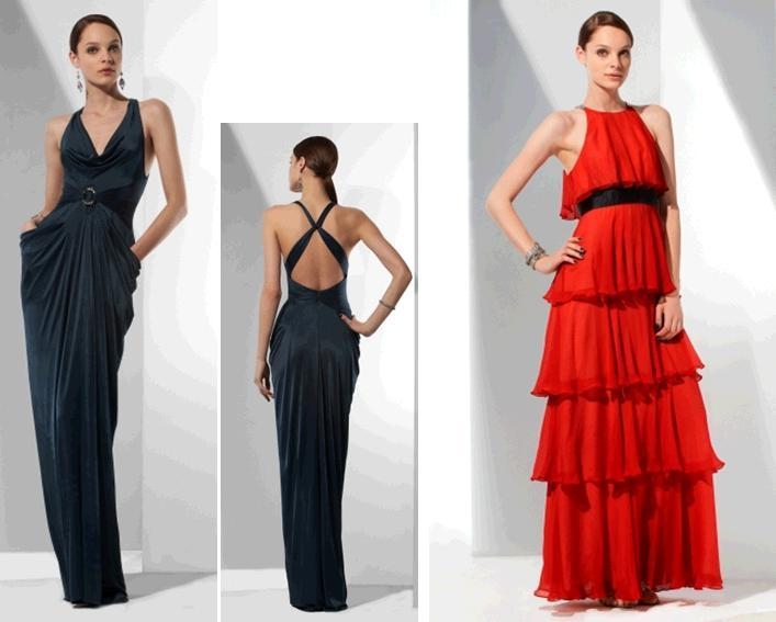 Bcbg-evening-dresses-for-bridesmaids-dark-navy-blue-open-back-tiered-bright-red-black-belt.full