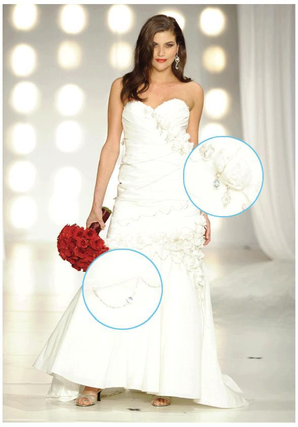 Platinum-wedding-dress-pgi-david-tutera-red-rose-bridal-bouquet.full