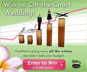 photo of Win a Wedding That's Off the Chart!