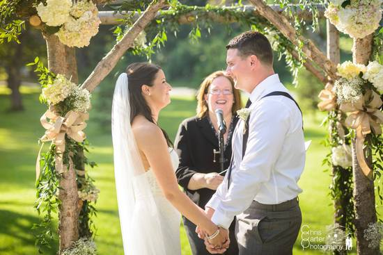 Holly & Matt - Warwick NY Wedding Ceremony - Rev. Lisa Zaro