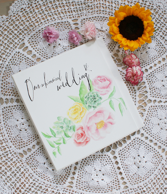 bohemian mint-watercolor-wedding-planners