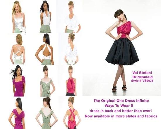 photo of One Dress, Infinite Ways, For Your Beautiful Bridesmaids!