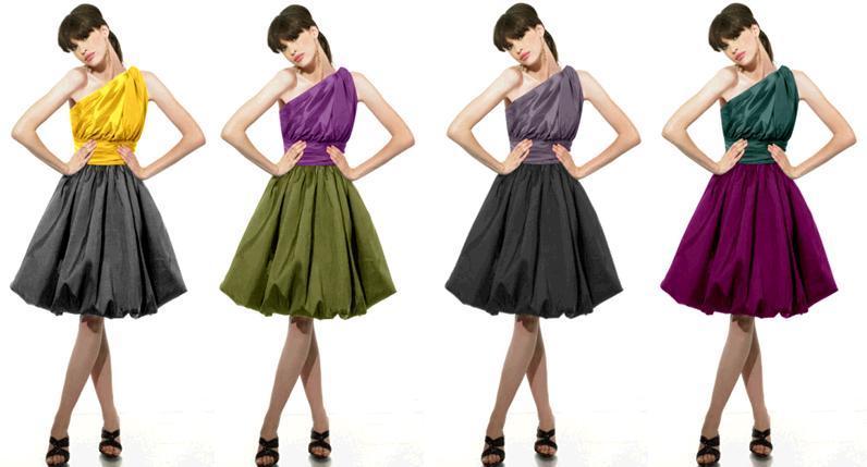Bridesmaids-dresses-colorful-one-shoulder-val-stefani-moonlight-bridal.full