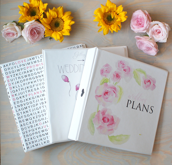 wedding planners collection by bohemian mint