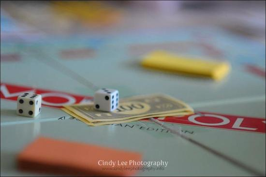 For the Kiddie Korner at your wedding reception, Monopoly and other board games are a must!