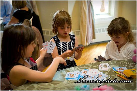 Keep kids happy and busy with a Kiddie Korner at your wedding reception