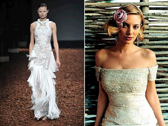 Lace-wedding-dresses-givenchy-justin-alexander-runway-dusty-rose-flower-in-hair-braiding-detail.full