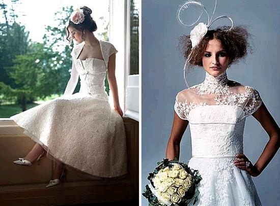 Gorgeous lace wedding dresses with a modern, chic twist