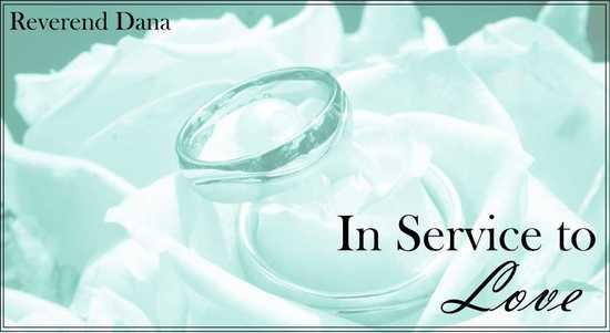 In Service to Love - Logo