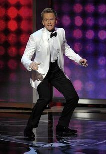 Neil Patrick Harris looked elegant in his white tuxedo at the 61st Emmy Awards.