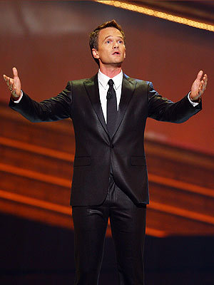 Neil Patrick Harris' suit for the Tony awards had an elegant sheen to it