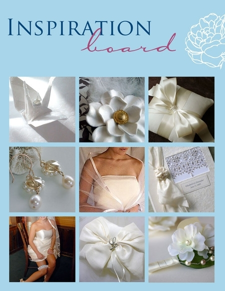 photo of Ever After Wedding Market: Soft Satin Wedding Inspiration