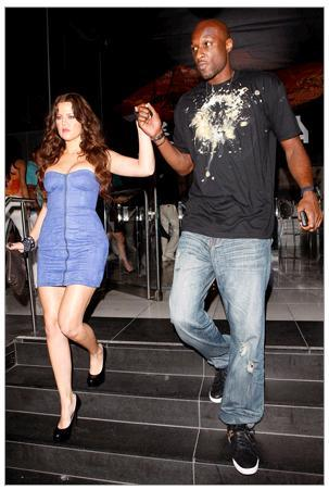 Khloe Kardashian with NBA boyfriend Lamar Odom, will they tie the knot?