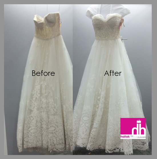 Before and After by Hallak Cleaners