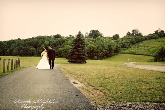 photo of Featured Wedding: Childhood Sweethearts