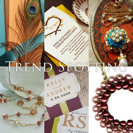 For a fall wedding, combine earthy tones with bright accents, like in this gorgeous Autumn inspirati