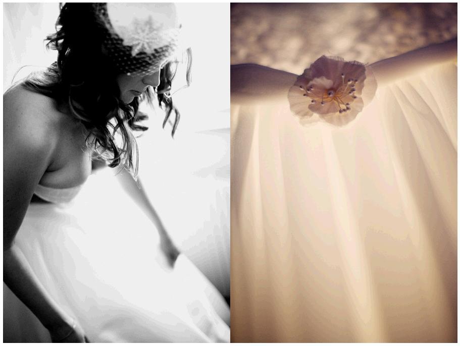 A-castle-wedding-european-romantic-bride-white-strapless-wedding-dress-birdcage-veil-flower-detail.full