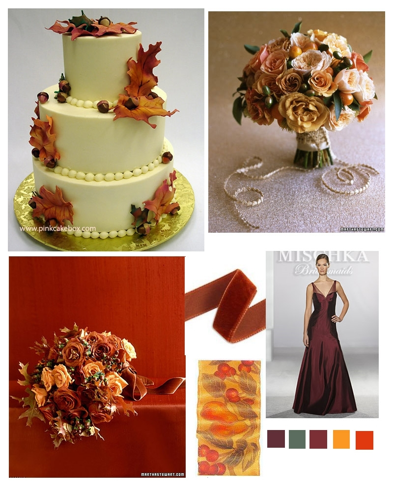 photo of Changing Autumn Landscape: Fall Wedding Inspiration!