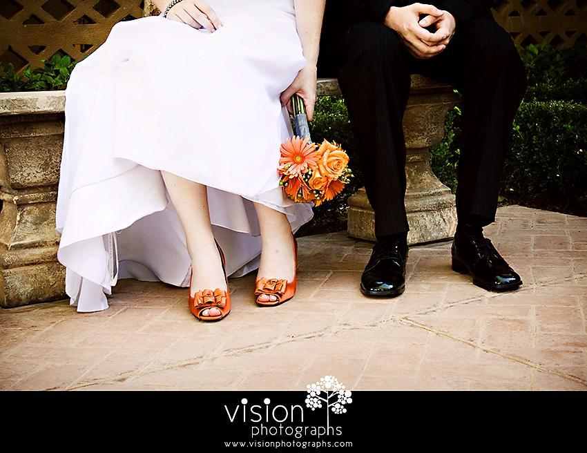 Shoes-wedding-unique-bride-in-bright-orange-peep-toe-bridal-heels.full