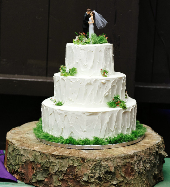Charleen & Eugene's Wedding Cake