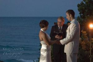 photo of Featured Wedding: A Florida Beach Wedding
