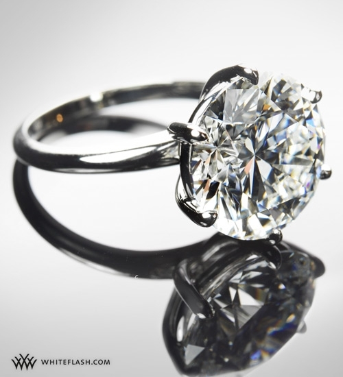 Bling bling!  Stunning diamond engagement ring from Whiteflash.com
