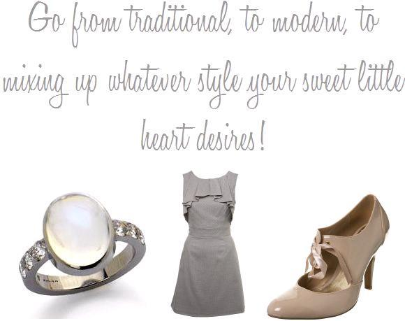 Mix-it-up-at-your-wedding-style-modern-traditional-edgy-trendy-break-tradition-short-wedding-dress-wedding-ring-heels.full