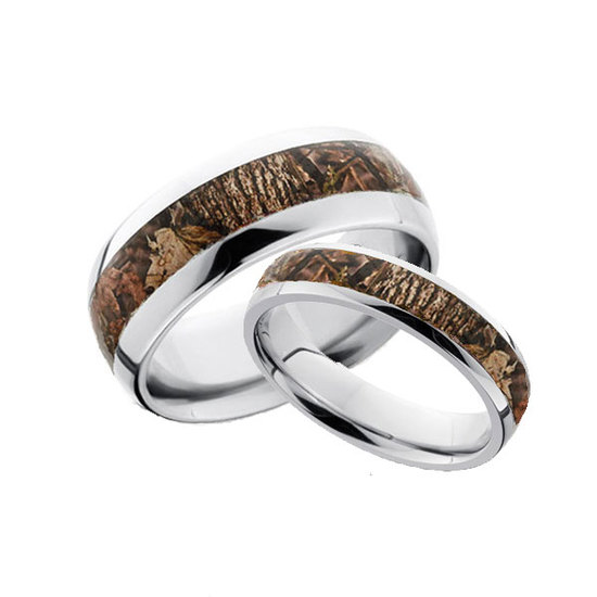 His and Hers Camo Ring Set at Camokix