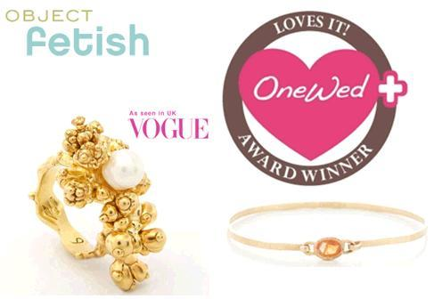 OneWed loves the one-of-a-kind jewelry and custom wedding rings from Object Fetish!