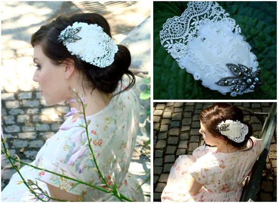 photo of Veils and Bridal Hair Accessories: Inspired by Vintage Hollywood Glamour!