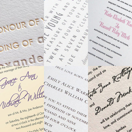 wedding invitations wording etiquette